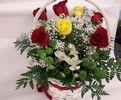 Фото 2. Доставка корзины цветов по Варшаве, Польша. florist.com.ua